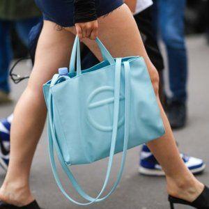 Telfar Medium blue  Shopping Shoulder Bag
